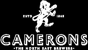 camerons - logo - white
