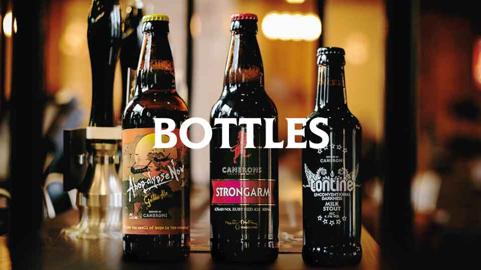 Camerons Brewery Bottles - Camerons brewery