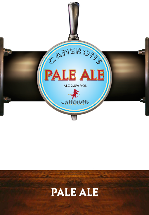 Pale Ale - Pump Clip - Camerons Brewery