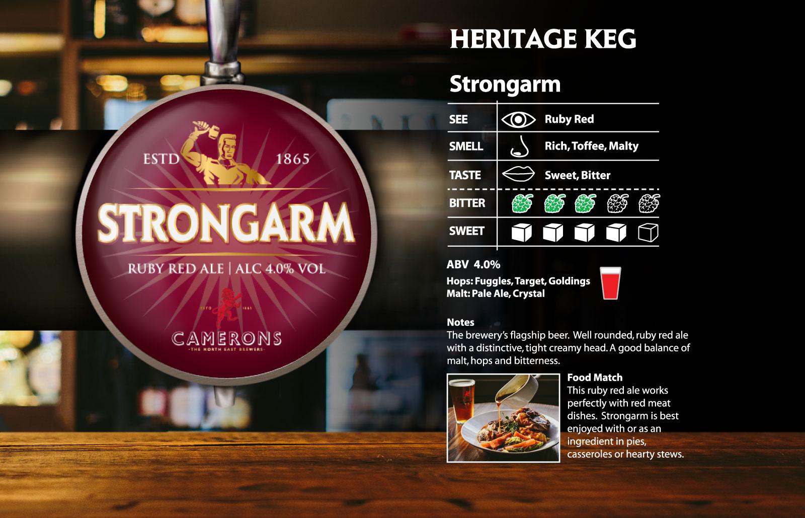 Strongarm Heritage Keg