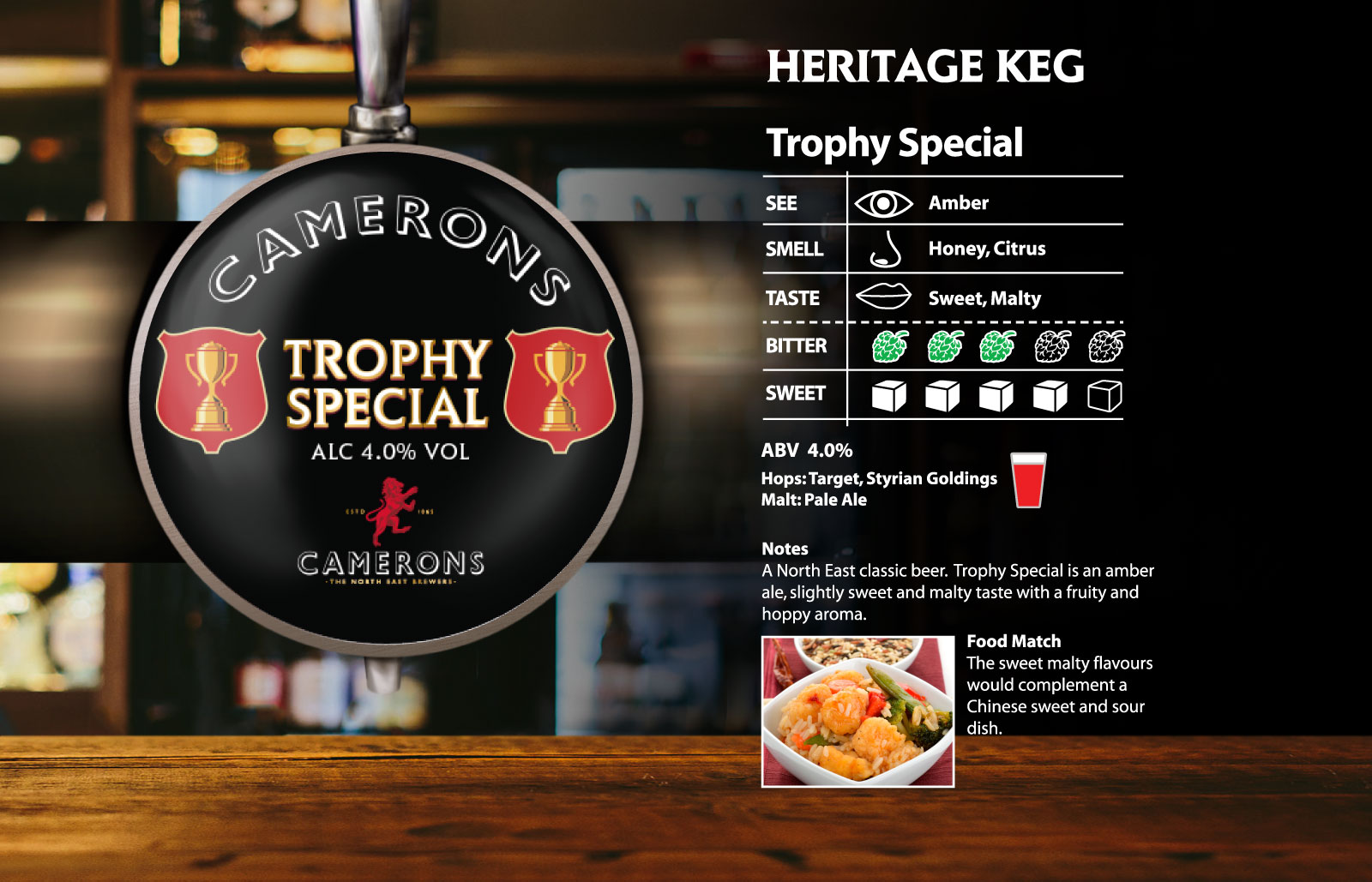 Trophy Special Heritage Keg