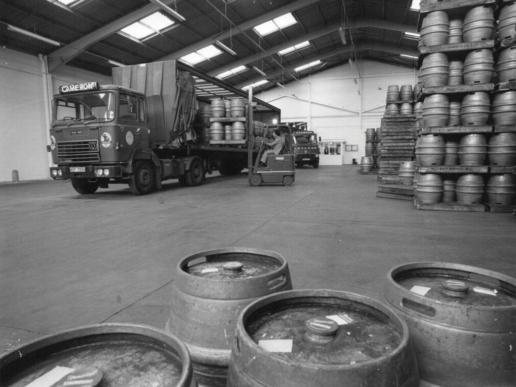 Brewery Photos – Warehouse