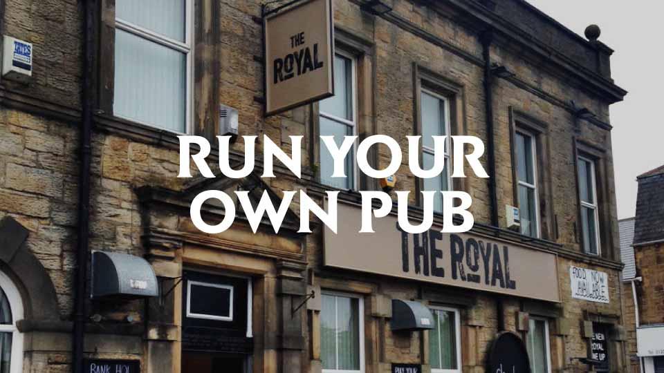 Run your own pub - Camerons Brewery Pub