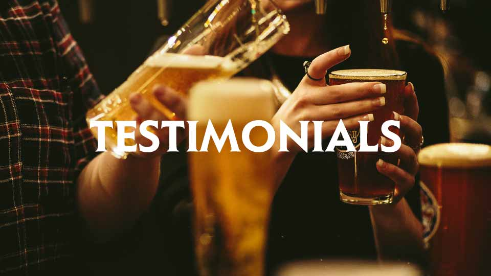 testimonials - Camerons brewery