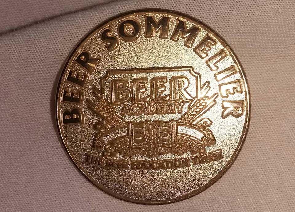 Beer Sommelier-badge