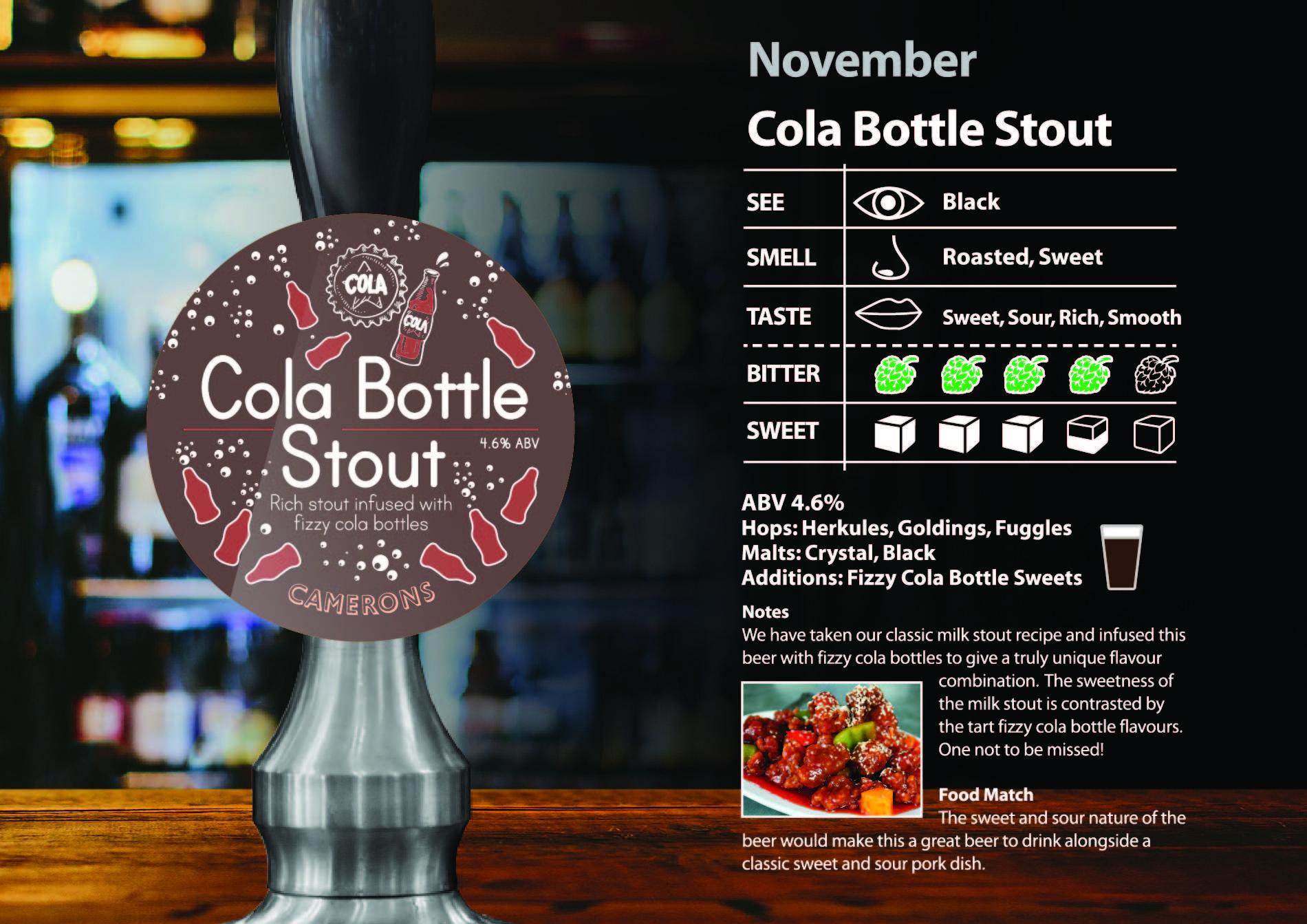 cola bottle stout