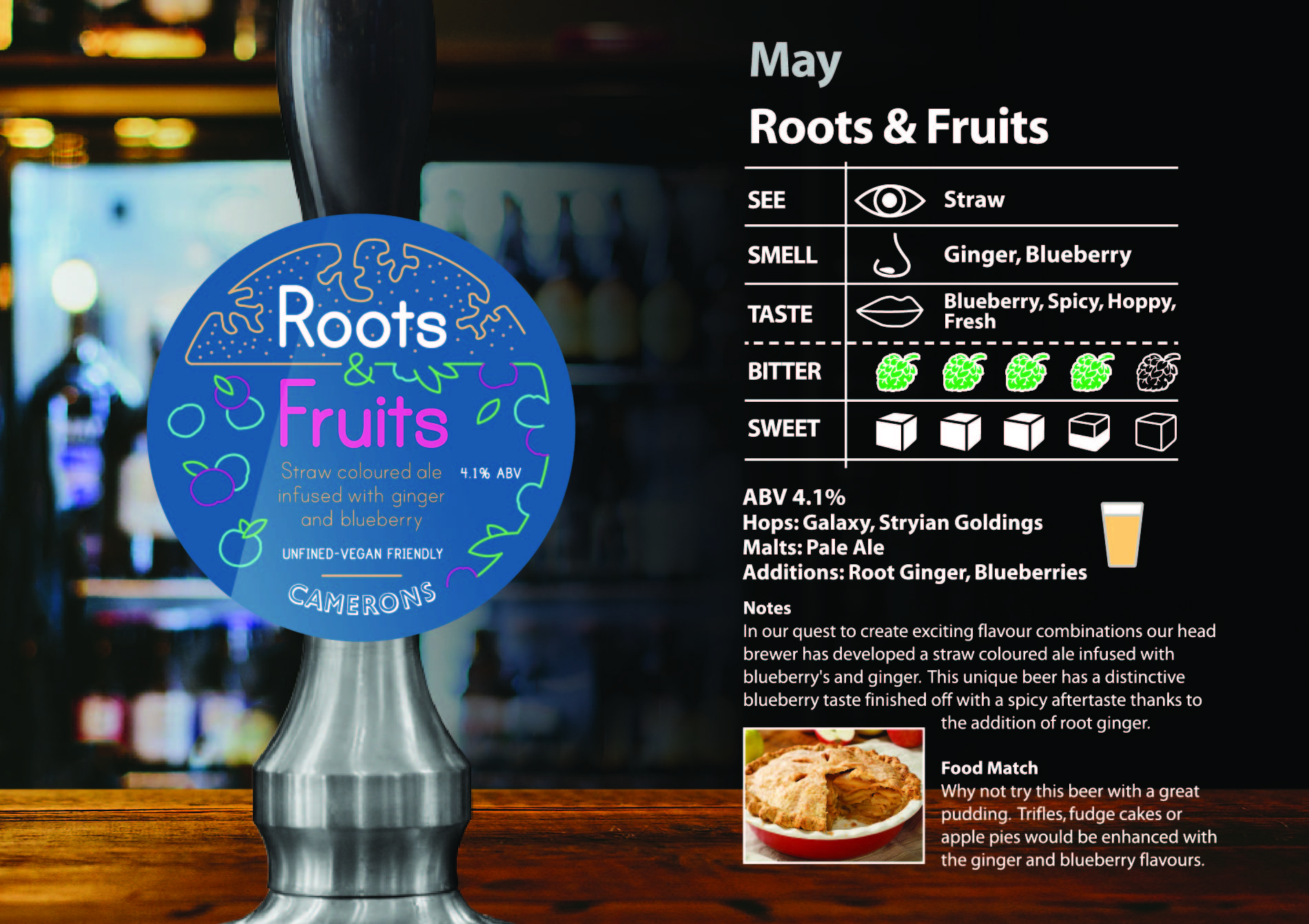 roots and fruits