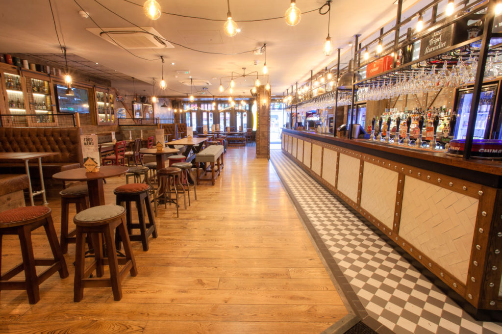 Inside the latest The Head of Steam Didsbury venue which opened in January.