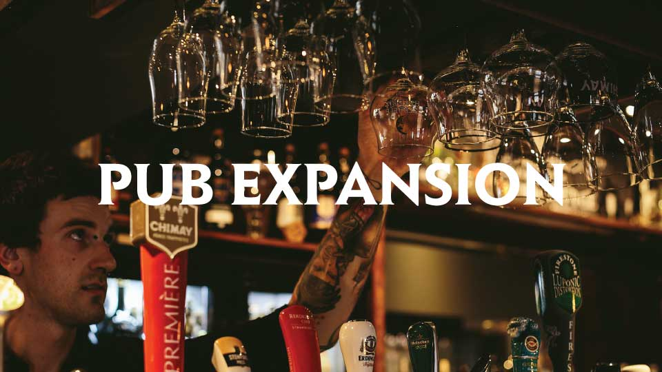 CAMERONS PUB EXPANSION