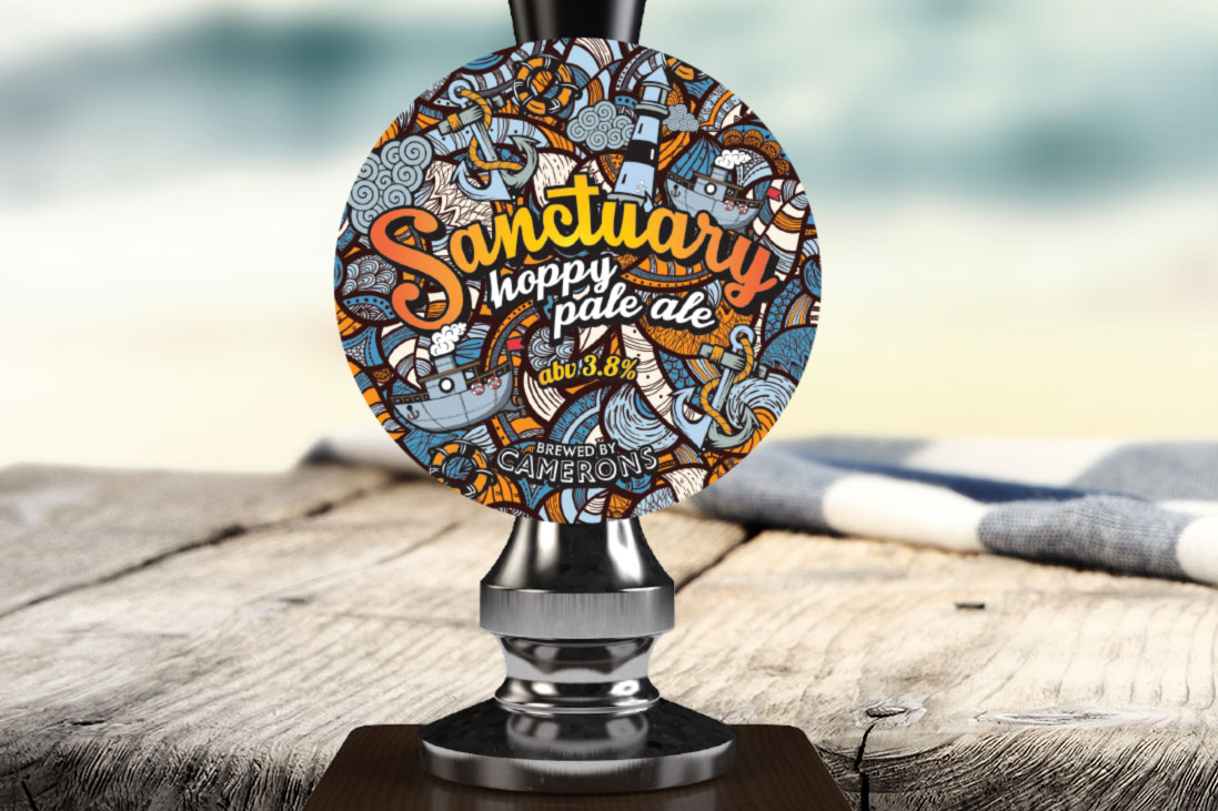 Camerons Brewery Sanctuary New Beer