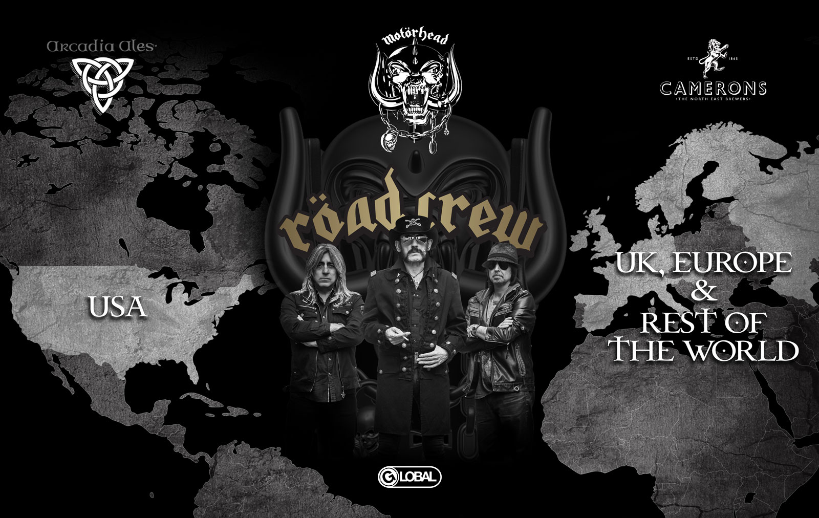 Motorhead To Release Road Crew In The States