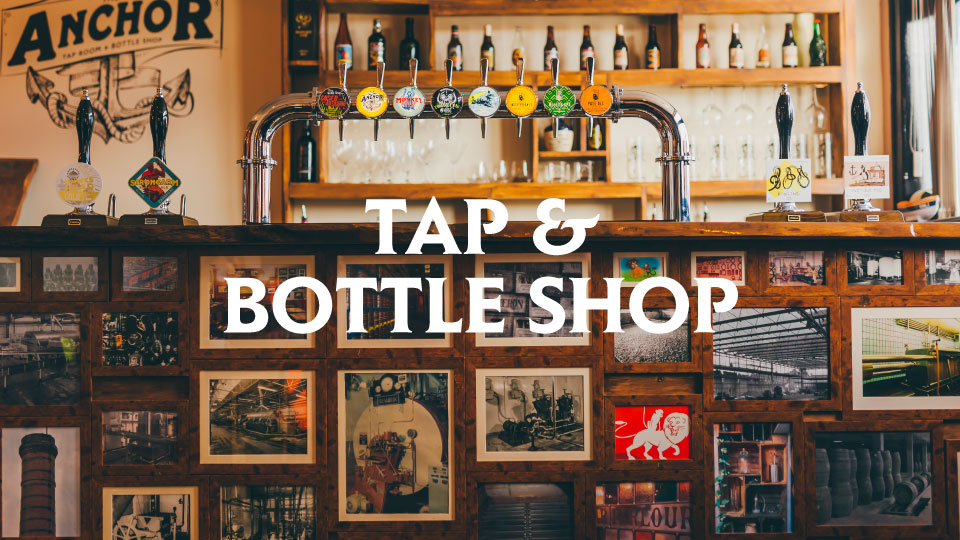 TAP AND BOTTLE SHOP - CAMERONS BREWERY