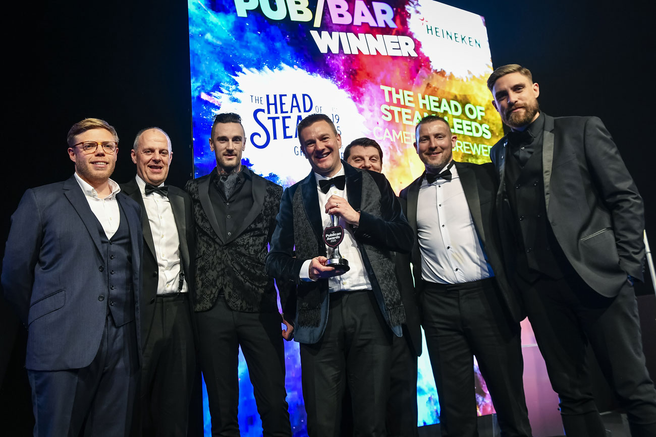 CAMERONS WIN BIG AT PUBLICAN AWARDS
